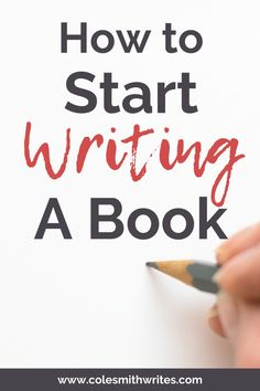 Are you one of the 8 in 10 people who want to write a book? Not sure where to start, or whether you've got what it takes? Here's how to start writing a book Book Writing Tips, Start Writing, Writing Help, Better Writing, Writing Ideas, I Love Books, My Books, Read Books, Cole Smith