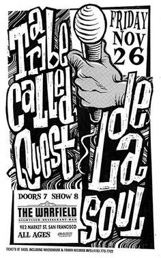 rob collison. tribe & de la.