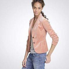 #reallycute womens velvet jacket 34240541