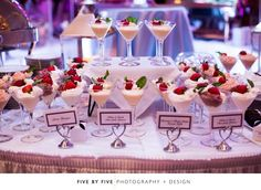 Delicious appetizers for a Grand Ballroom Reception at the Hilton Lexington Downtown