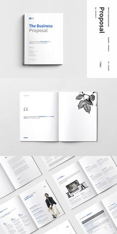 Business Proposal template is professional, fresh and clean InDesign template. It is for designers working on proposal or based on the projects. Business Proposal Template, Proposal Templates, Indesign Templates, Brochure Template, Adobe Indesign, Logo Design, Web Design, Graphic Design, Wordpress Theme