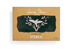 Classical Bird Annie Sloan Stencil