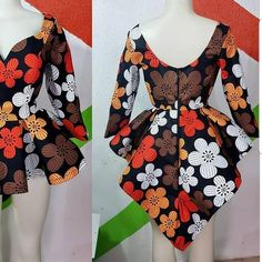 Joke Top Best quality Crafted with style Allow to deliver The style is for classy look that stand you out Ankara Dress Styles, Latest African Fashion Dresses, African Dresses For Women, African Print Dresses, African Print Fashion, African Attire, Latest Ankara Styles, Ankara Stil, African Blouses