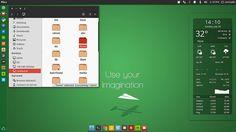 Green Imagination Desktop  Theme: Numix Icons: Numix Square Conky: Harmattan Dock: Plank Wallpaper: Lifewin