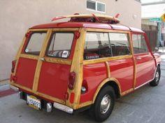 1964 Mini Countryman Woodie Wagon #MINI #MiniCooper #Rvinyl ============================= http://www.rvinyl.com/MINI-Accessories.html