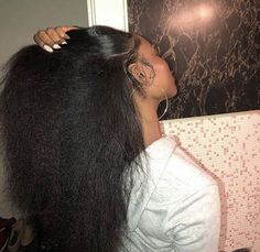 Straight Hairstyles, Girl Hairstyles, Curly Hair Styles, Natural Hair Styles, Hair Laid, Natural Hair Inspiration, Natural Hair Growth, Hair Health, 4c Hair