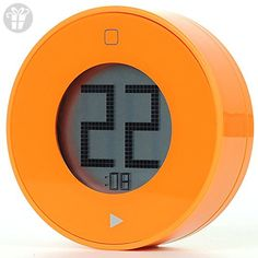 Deercy Digital Kitchen Timer, Big Digits, Magnet Backing, Simple and Easy-to-Use Timer for Cooking, Baking, Classroom, Gym(Orange) - Fun stuff and gift ideas (*Amazon Partner-Link)