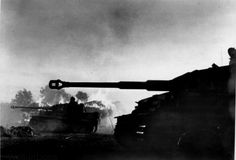 Battle of Kursk. Tiger I tanks spearhead the assault in the northern sector. German offensive: 5–16 July 1943.