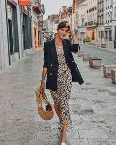 Women& clothing - Leopard maxi dress - About women - Outfits - Look Fashion, Winter Fashion, Fashion Outfits, Fashion Trends, Dress Fashion, Fashion 2018, Fashion Photo, Retro Fashion, Latest Fashion For Women