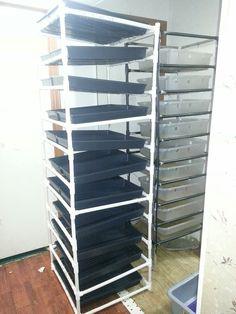 Homemade fodder rack