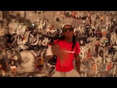 """we be steady mobbin"" by lil wayne feat. gucci mane."