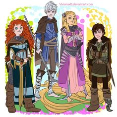 Rotbtd Anime | Rise of the Brave Tangled Dragons Just Them