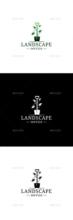 LandScape by niklancer �20Fully Editable Logo �20CMYK100% vector �20AI, EPS�20Easy to Change Color and Text�20Used Font: http://www.fontsquirrel.com/fonts/dro