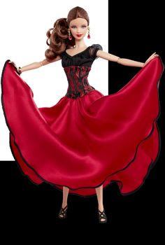 barbie doll dancers | Paso Doble Barbie doll - Dancing with the Stars