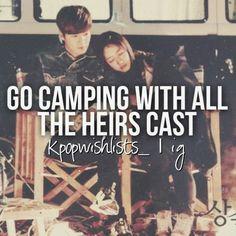Lee Min Ho and Shin Hye ♡ #Kdrama // The #HEIRS