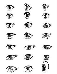 How To Draw Cute Girl Anime Eyes
