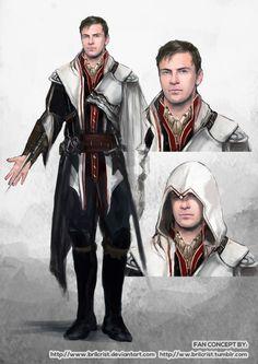 Fassassin's Creed Concept Art