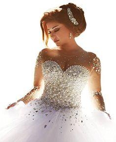 65 New Romantic Long Bridal Wedding Hairstyles to Try - Deer Pearl Flowers