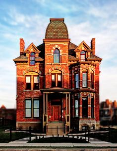 Restored Victorian Brush Park home | Detroit