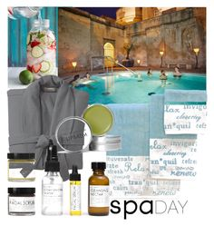 """relax"" by kitchqueen on Polyvore featuring beauty, Pottery Barn, Park B. Smith, Fig+Yarrow and spaday"