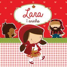 Convite Personalizado Chapeuzinho Vermelho - Kit little poá vernelho Red Riding Hood, Little Red, Puppets, Minnie Mouse, Scrapbook, Activities, Disney Characters, Party, Amanda