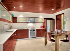 Stunning Designs of L-Shaped Kitchens - Interiordesignsweb.com