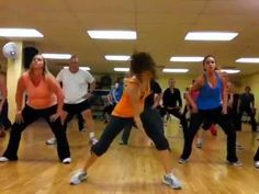 """Prrrum"" Weird title. Fun song.     My favorite Zumba routine everrrr. Works those abs!"