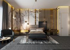 Behance is the world's largest creative network for showcasing and discovering creative work Luxury Bedroom Design, Master Bedroom Interior, Bedroom Bed Design, Modern Luxury Bedroom, Wood Bedroom, Luxurious Bedrooms, Luxury Living, Home Interior Design, Luxury Interior