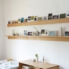 Your Home is Lovely: interiors on a budget: Object of the day: new Muji shelving Muji Haus, Muji Style, Diy Bedroom Decor, Home Decor, Wall Shelves, Home And Living, Interior Inspiration, Floating Shelves, Dining Room