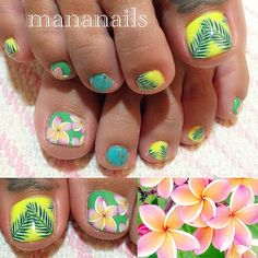 Instagram media by mananails - Plumeria #plumeria #leaf #botanical #summer #プルメリア #リーフ #ボタニカル #南国