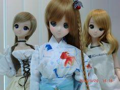 Smart Doll Mirai Suenaga and Kizuna Yumeno by nekomin2