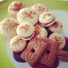 Macarons speculoos!