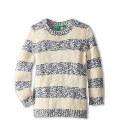 United Colors of Benetton Kids Textured Sweater L/S 101BQ1059 (Toddler/Little Kids/Big Kids)