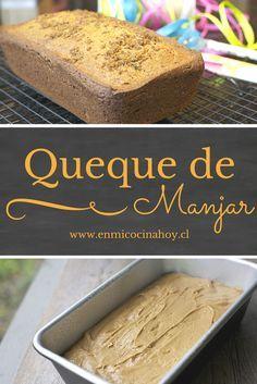 Este queque de manjar es fácil de hacer y delicioso de sabor. Le puedes agregar nueces o almendras, le dan un sabor muy rico.