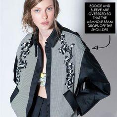 Drop sleeve jacket