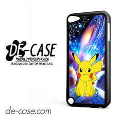 Pikachu Pokemon Space Galaxy Nebula DEAL-8620 Apple Phonecase Cover For Ipod Touch 5