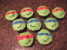 ninja turtle cupcakes  | Leave a Reply Cancel reply