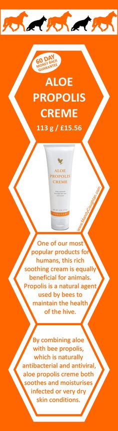 Aloe Propolis Creme.  https://www.facebook.com/ukAloeVeraVicky/?ref=aymt_homepage_panel