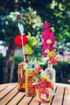 Floriane Caux photographie // Poppy Figue Flower // Madame Coquelicot (décoration) Célia + Vincent - 22.08.15