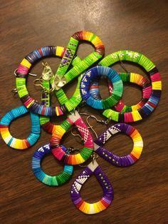 Beautiful colors and talent! Porcupine quillwork Lourdes Zephier