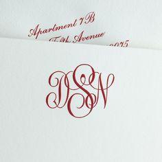 © 2015 The Printery Monogram Stationary, Monogrammed Stationery, Stationery Paper, Wedding Stationery, Wedding Invitations, Oyster Bay New York, Newborn Baby Photography, Hand Engraving, Letterpress
