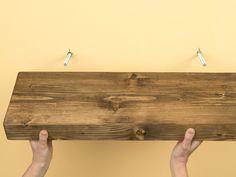 make a floating shelf
