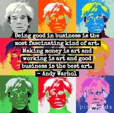 See related links to what you are looking for. Stop Working, Being Good, Andy Warhol, Cool Art, How To Make Money, Ads, Cool Artwork