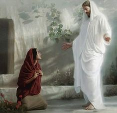 Jesus & Mary at the Tomb