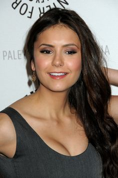 Nina Dobrev - makeup | 27th Annual PaleyFest at Saban Theatre presents 'TVD' | March 6, 2010