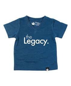 Navy 'The Legacy' Tee - Infant Toddler & Boys