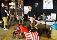 Members of our wonderful #HWHome team meeting customers and enjoying the Flea