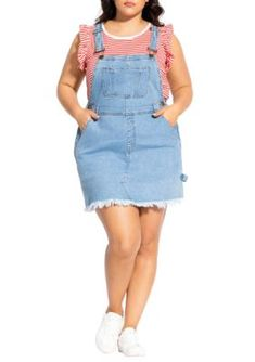 5e170efaabe 22 Best Overalls Plus Size Edition...!!! Cute images in 2017 ...