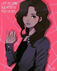 Michelle (Spiderman Homecoming Character)., Ali Oleg Fjerdssån Toglukdemir on ArtStation at https://www.artstation.com/artwork/0kQV4