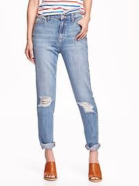 Vintage High-Rise Jeans for Women